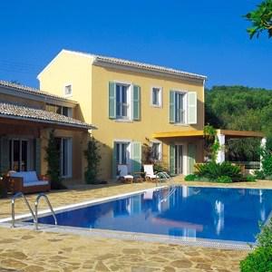 Family villas in Corfu