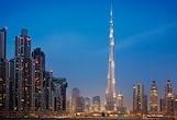 amazing Dubai skyline