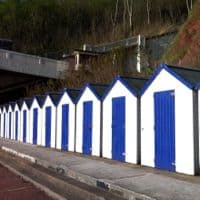 Beach huts at Oddicombe