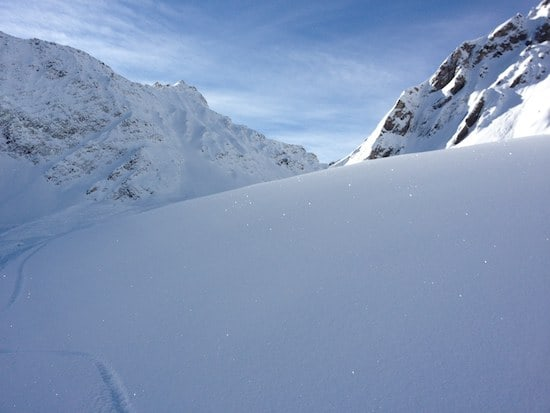 snow off piste