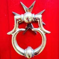 Look out for spectacular door knockers