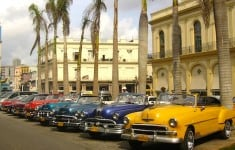 Vintage cars - Journey Latin America