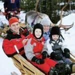 Family sligh rides