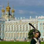 Guard duty at Catherine Palace