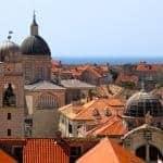 The Dubrovnik skyline