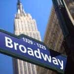See a show on Broadway