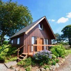 Cornwall log cabins