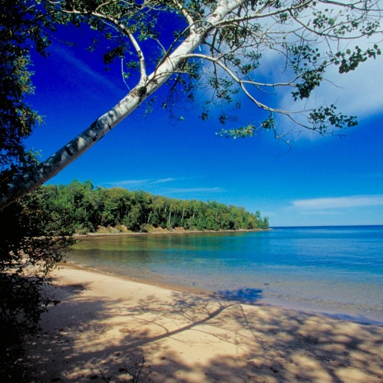Great Lakes beach
