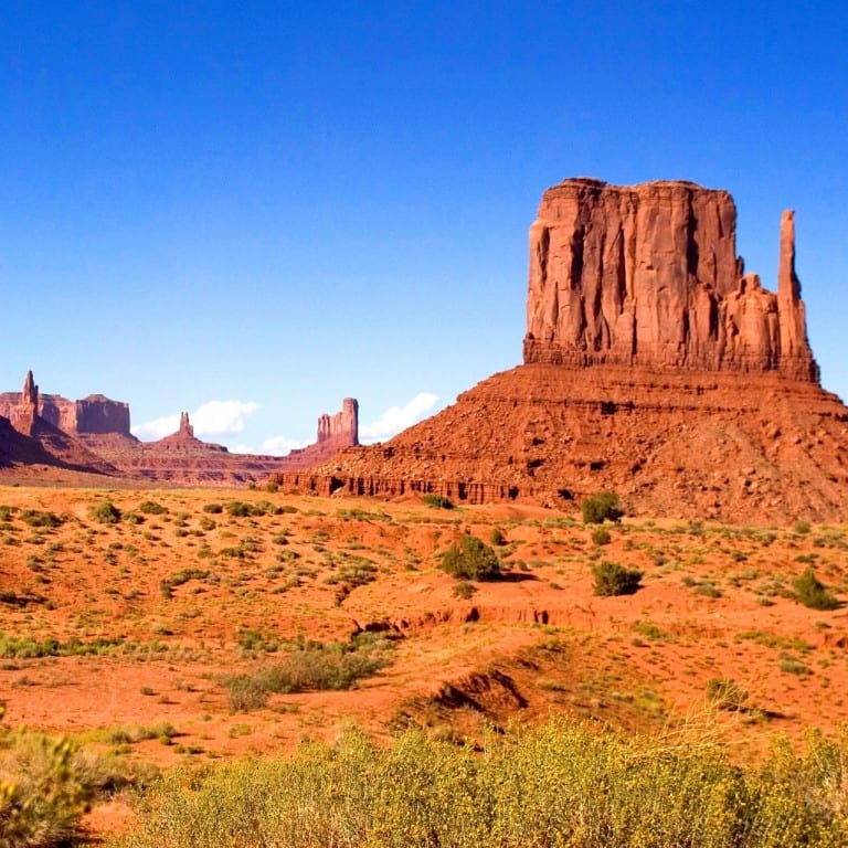 West coast fly-drive - Monument Valley