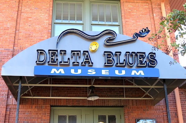 Delta Blues Museum Clarksdale Mississippi on Highway 61