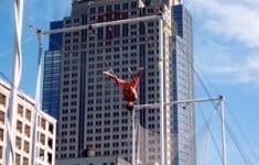 Trapeze classes in New York