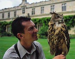 falconer-with-children
