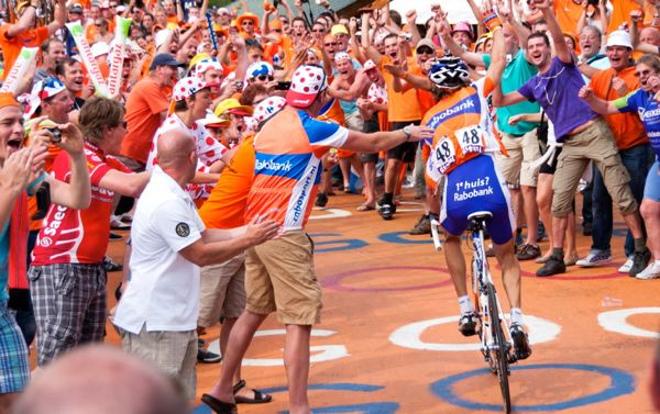 The thrills and spills of the Tour de France