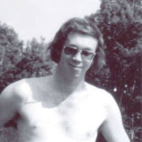 Derek in his youth