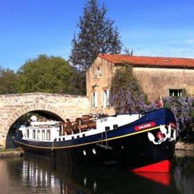 One of European Waterways' hotel barges