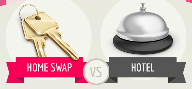 Home Swap vs Hotel