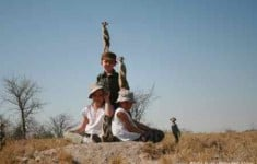 Take the kids on safari - photo from Unchartered Africa, Botswana