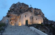 One of the Matera cave churches