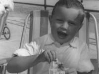 Every day's a holiday in Jersey - David in 1962