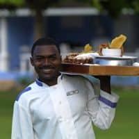Jamaica Inn room service with a smile