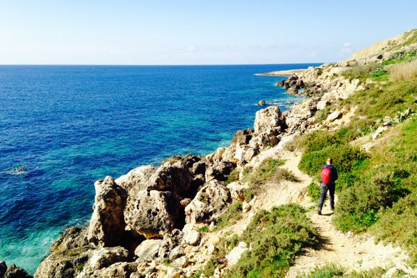 Coastal walk - Magarr to Xlendi