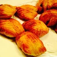 Delicious cheese pastizzi