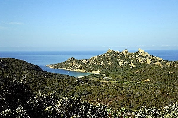 Roccapina beach
