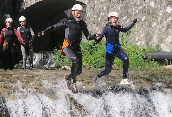 canyoning-splash