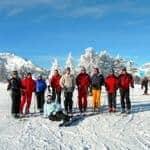 Skiing weekends