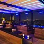 Rooftop pool & bar, Grand Hotel Central