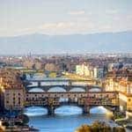 Florence's famous bridges