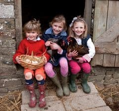 Working farm holidays for children
