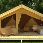 Stay in a safari tent
