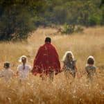 Walking safari with a Maasai warrior
