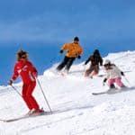 Family Skiing-1