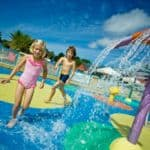 Fun splash zones
