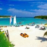Hot holidays in February in Antigua