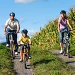 Easier routes for younger children