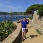 Walking along the Catalan coast