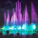 Aquanura fountains show