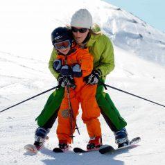 Skiing in term time