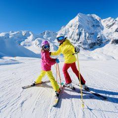 Half term ski holiday