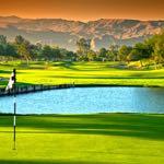 Golfing in Palm Springs