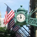 Chicago's famous clock