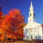 Granby, Massachusetts in the Fall