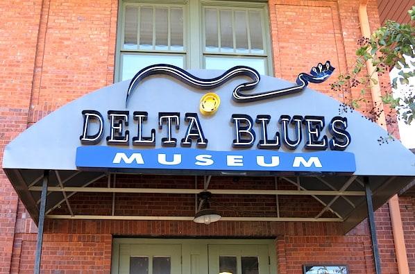 Delta Blues Museum Clarksdale Mississippi on Highway 61