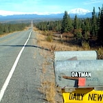 Driving in Alaska but not the Alaska highway photo by Mike