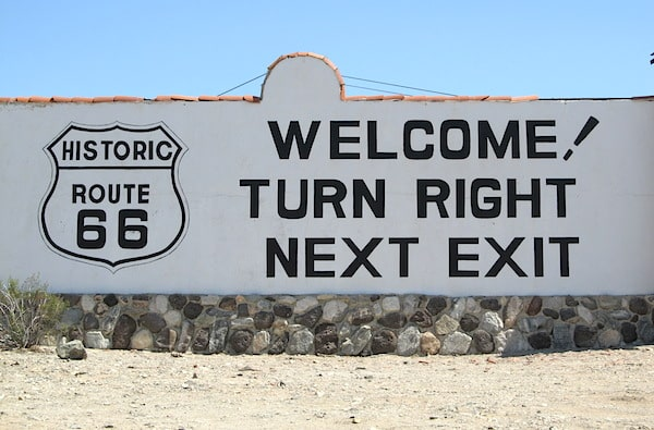 Route 66 near Needles California 2
