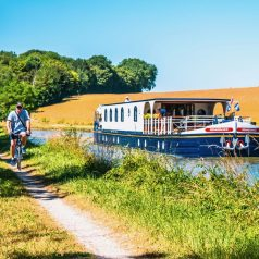 over-50s cruising holiday in France