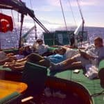 Relax on board the gulet